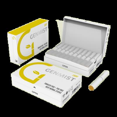 Kép 2/2 - Genmist - Light Dohányízű Nikotinos hevítőrúd - Doboz