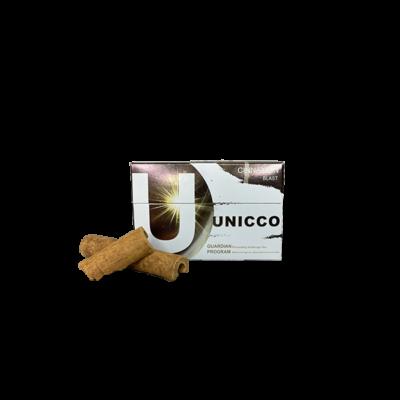 Kép 1/3 - Unicco - Fahéj ízű Nikotinos hevítőrúd - Doboz