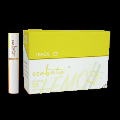Kép 2/2 - Ccobato - Citrom ízű Nikotinmentes hevítőrúd (Mentollal) - Doboz