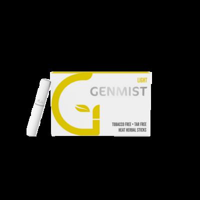 Kép 1/4 - Genmist - Light Dohányízű Nikotinos hevítőrúd - Doboz