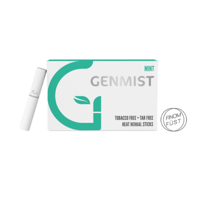 Kép 2/4 - Genmist - Menta ízű Nikotinos hevítőrúd - Doboz