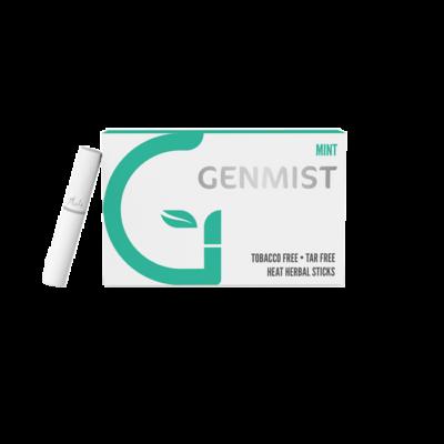 Kép 1/4 - Genmist - Menta ízű Nikotinos hevítőrúd - Doboz