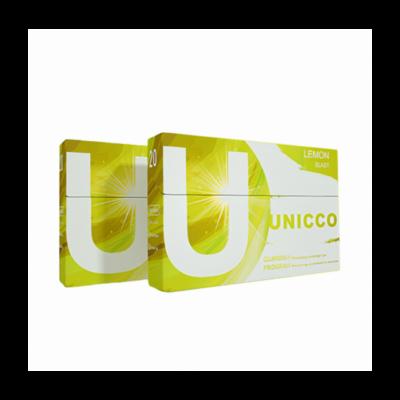 Kép 2/2 - Unicco - Citrusos ízű Nikotinos hevítőrúd - Doboz