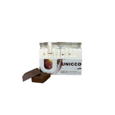 Kép 3/6 - Unicco - Csokoládé ízű Nikotinos hevítőrúd - Doboz