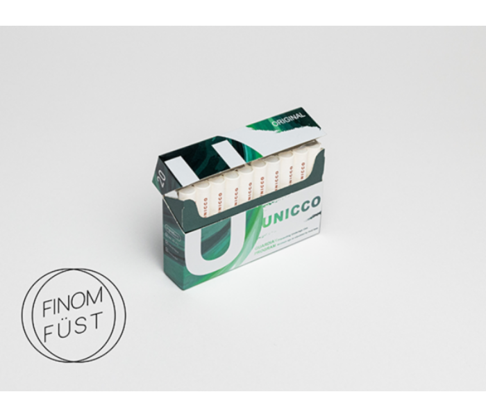 Unicco - Normál Nikotinos hevítőrúd - Doboz