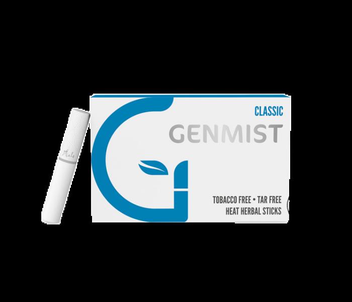 Genmist - Klasszikus Dohányízű Nikotinos hevítőrúd - Doboz