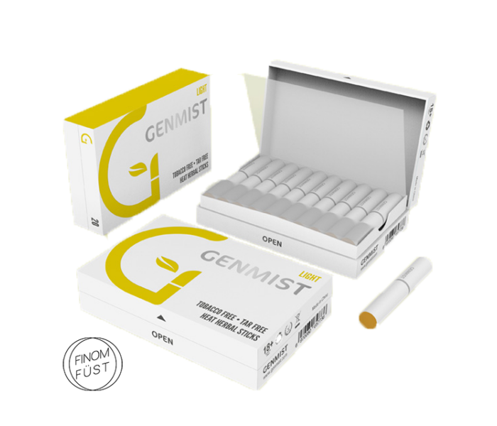 Genmist - Light Dohányízű Nikotinos hevítőrúd - Doboz