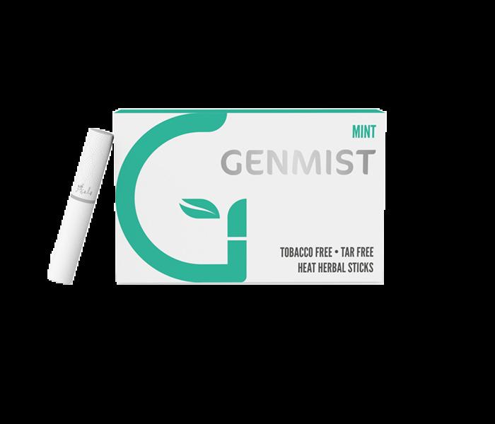 Genmist - Menta ízű Nikotinos hevítőrúd - Doboz
