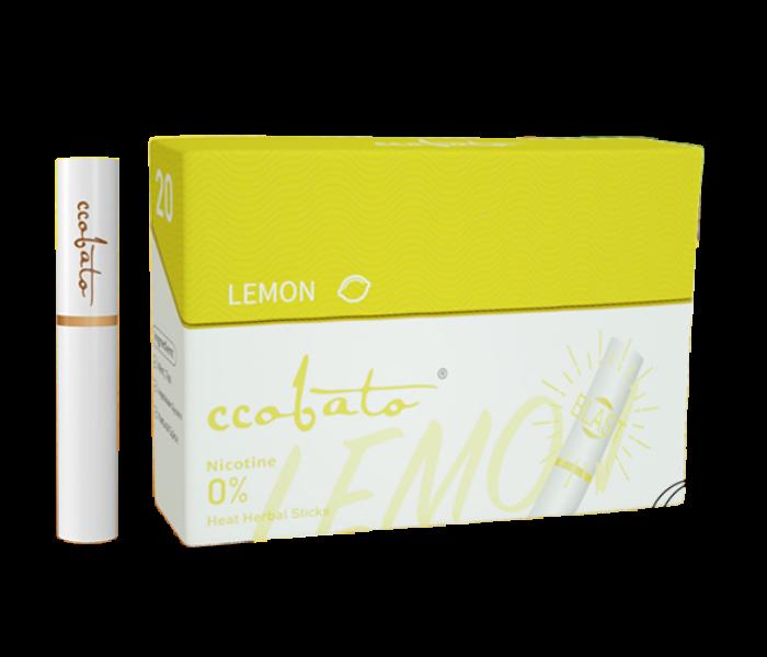 Ccobato - Citrom ízű Nikotinmentes hevítőrúd (Mentollal) - Doboz