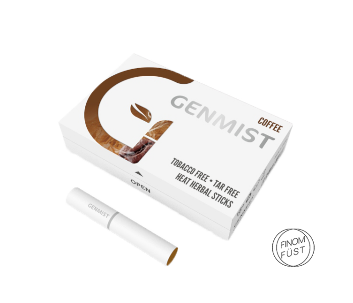 Genmist - Kávé ízű Nikotinos hevítőrúd - Doboz