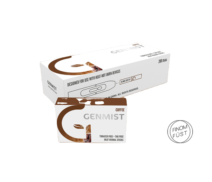 Genmist - Kávé ízű Nikotinmentes hevítőrúd - Karton