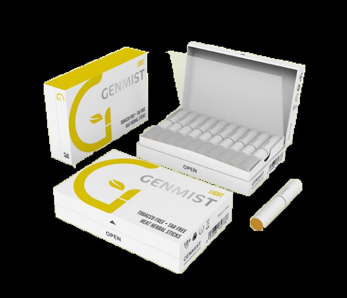 Genmist - Light Nikotinos hevítőrúd - Doboz