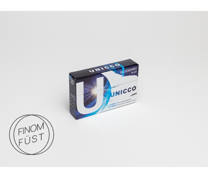Unicco - Áfonya ízű Nikotinos hevítőrúd - Doboz