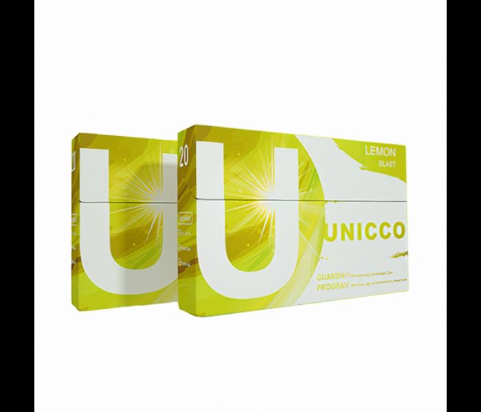 Unicco - Citrusos ízű Nikotinos hevítőrúd - Doboz