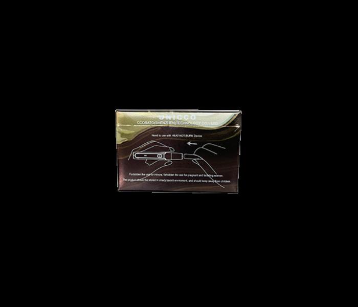 Unicco - Fahéj ízű Nikotinos hevítőrúd - Doboz