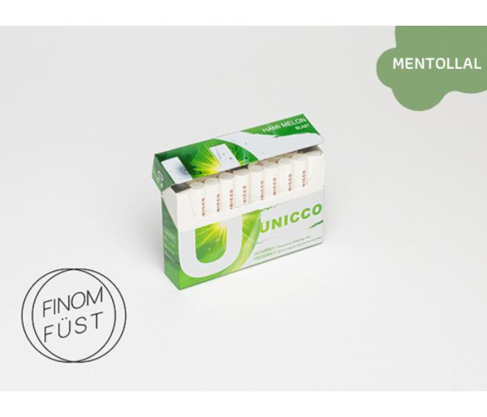 Unicco - Sárgadinnye ízű Nikotinos hevítőrúd (Mentollal) - Doboz